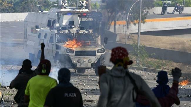 Russia slams US 'destructive' interference in Venezuela