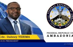 What makes Vice President Yerima such a powerful Ambazonia figure?
