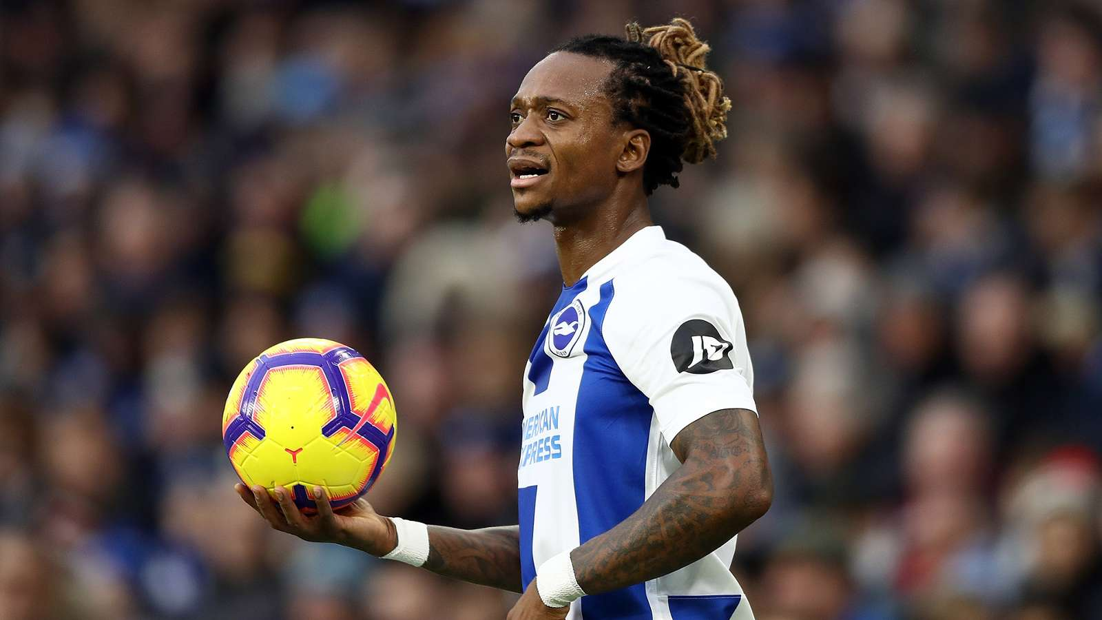 Premier League: Gaetan Bong extends Brighton and Hove Albion's stay