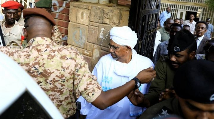 Ousted Sudanese leader transferred to prosecutor's office to face corruption charges