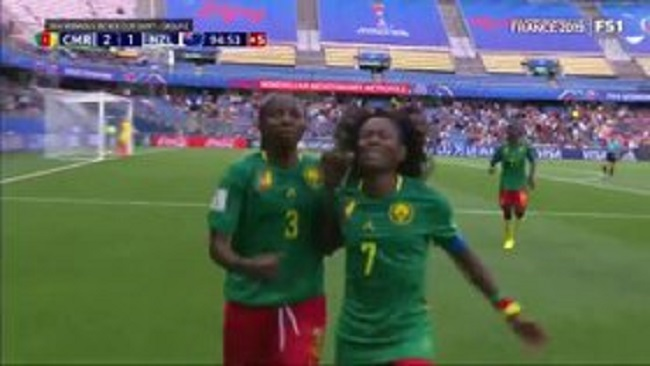 Women's Football World: Late goal catapults Cameroon