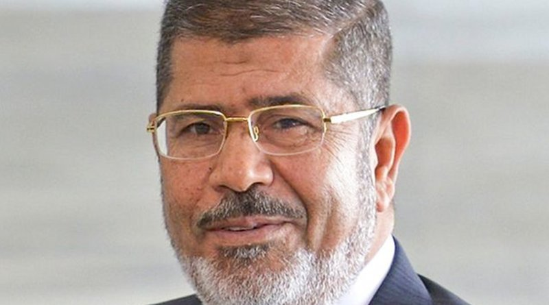 Ousted Egyptian president Morsi dies in court