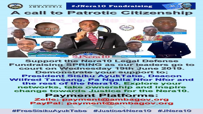 Ambazonia: Interim Gov't Cautions Chris Anu, Announces $7000 Support for NERA10