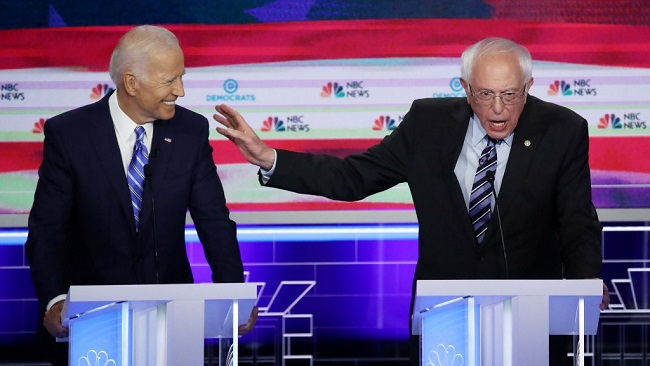 US: Biden in the hot-seat of a tense US Democratic debate
