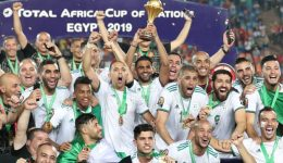 Algeria claim second Afcon title after Bounedjah's lucky strike sinks Senegal