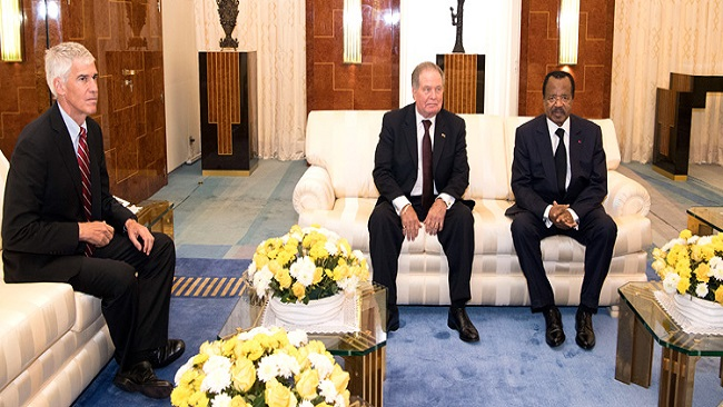 Doing Business With A War Criminal: Geovic Mining Corporation Chairman Meets Biya