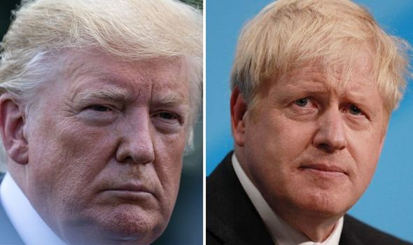 US: President Trump invites British Prime Minister Johnson to White House in new year