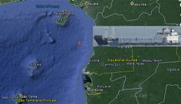 Cargo ship from Douala en route to Libreville reported sank in Gulf of Guinea, 3 missing