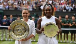 Simona Halep beats Serena Williams to win first Wimbledon tennis singles title