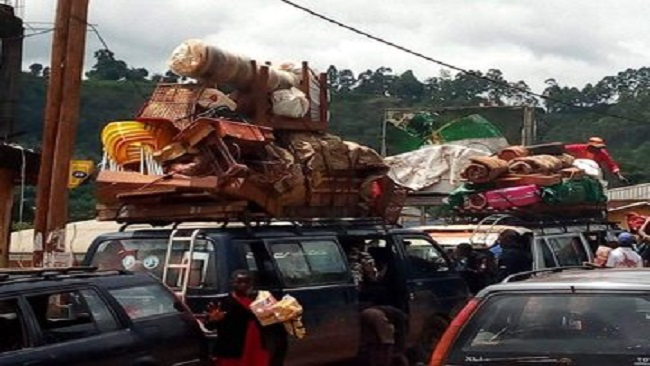 500000 flee Southern Cameroons