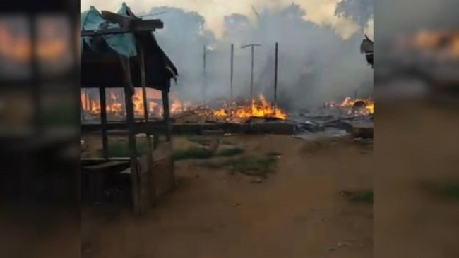 Ambazonia villages are burning in the One and Indivisible Cameroon