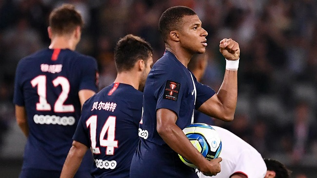Ligue 1: Mbappé, Di Maria work their magic to gift PSG French Super Cup victory