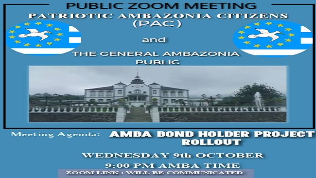 Ambazonia Resistance and Bond Holder Politics