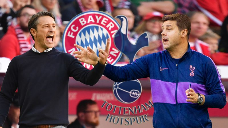 Champions League: Tottenham to host Bayern Munich