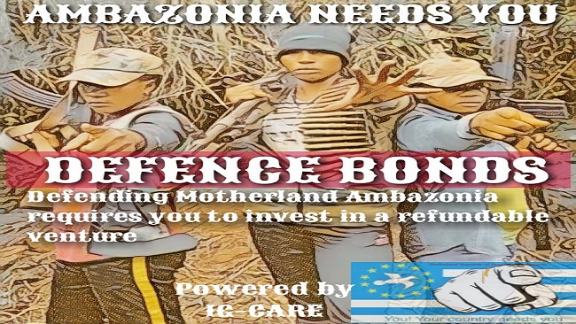 Ambazonia Interim Gov't launches market-leading bonds to finance the liberation struggle