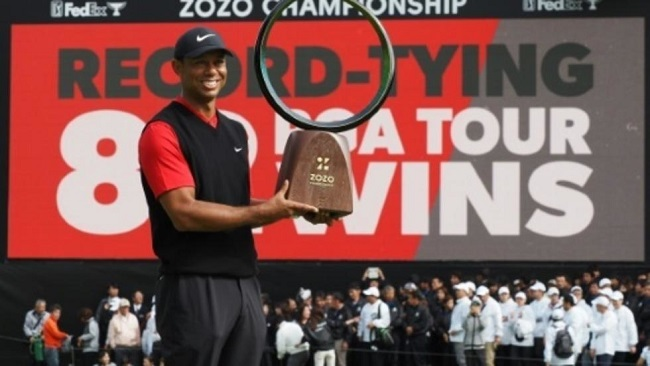 Tiger emerges from 'most challenging' career phase with record win