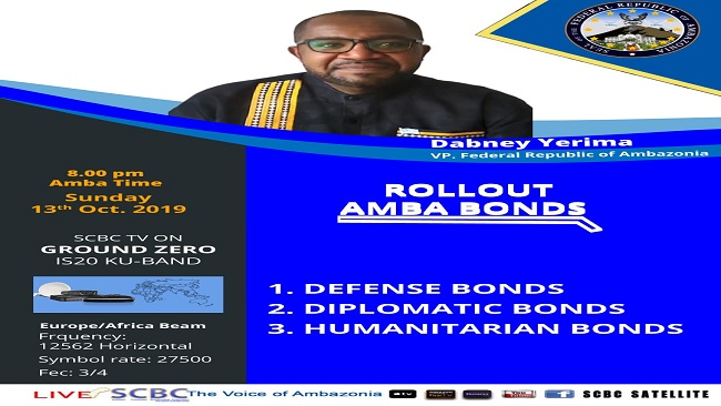 Federal Republic of Ambazonia: Vice President Dabney Yerima's National Defense Speech