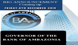 Southern Cameroons: Vice President Yerima to announce Bank of Ambazonia appointments