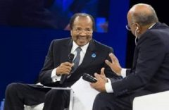 Paul Biya alarms the world in the Paris Peace Forum, Reveals the reason for his genocide