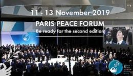 World powers,Paul Biya of troubled Cameroon take centre stage at Paris Peace Forum