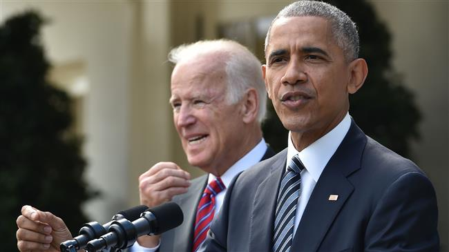 US: Barack Obama slams Trump's record in first campaign stop for Biden