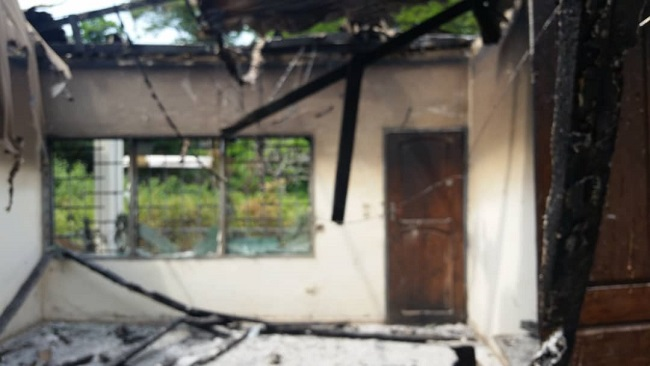 Southern Cameroons Crisis:  Restoration Forces Allegedly Set Hon. Enow Tanjong's house ablaze