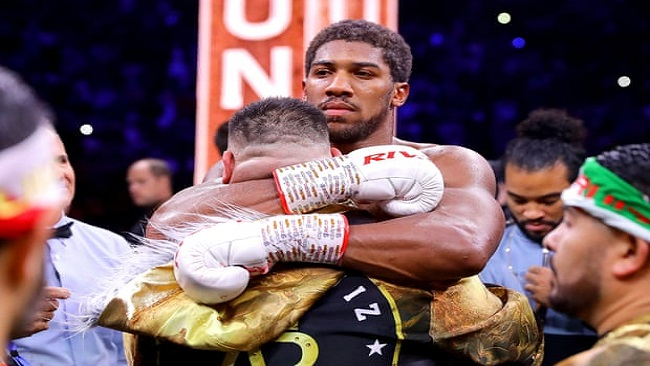 Anthony Joshua regains his heavyweight titles