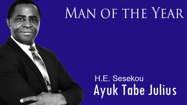 President Sisiku Ayuk Tabe is Cameroon Concord News Person of the Year