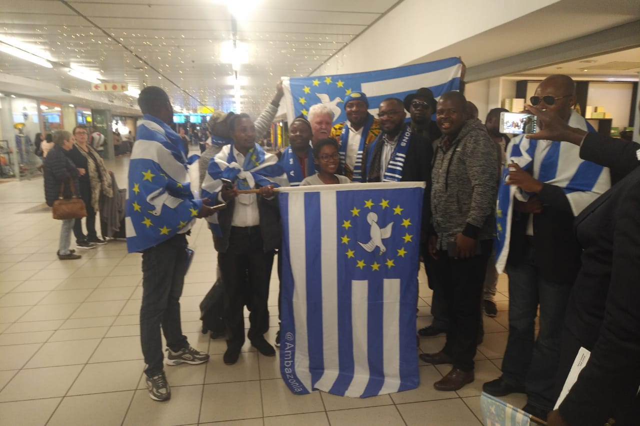 Federal Republic of Ambazonia: VP Yerima receives hero's welcome in South Africa