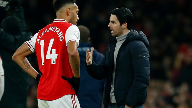 Football: Aubameyang cools Arsenal exit speculation
