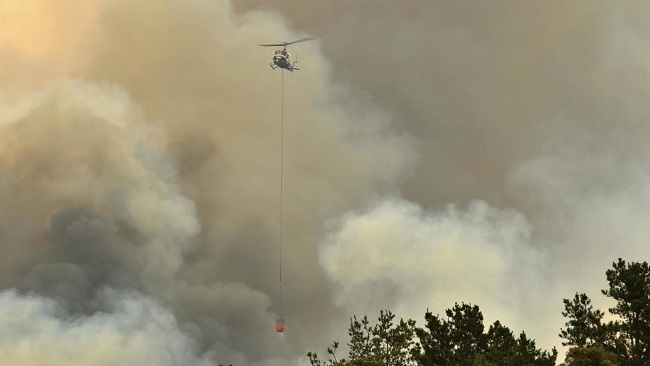 Sydney power under threat as fires destroy substations