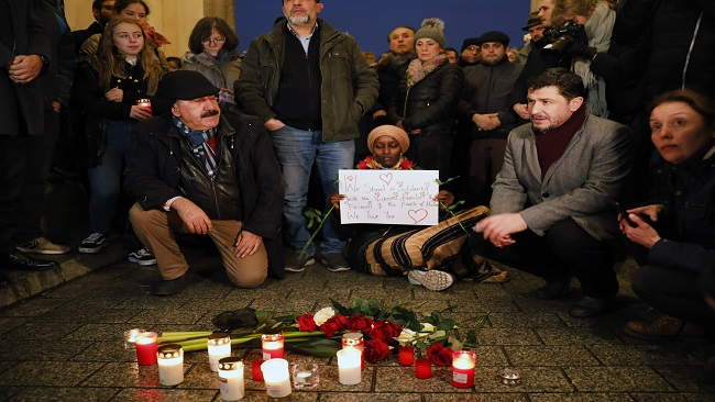 Germany: Vigils held for victims of 'racist' gunman