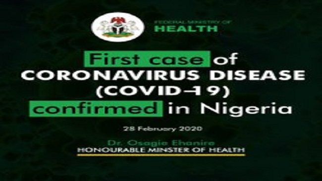 Nigeria confirms first coronavirus case in Sub-Saharan Africa