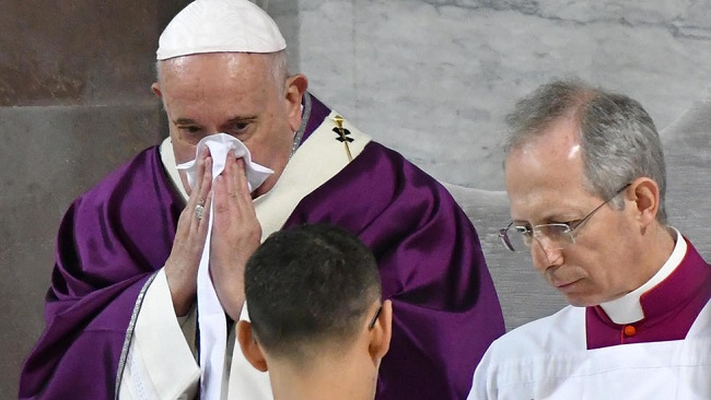 Vatican makes no reference to Coronavirus as Pope cancels more official appointments