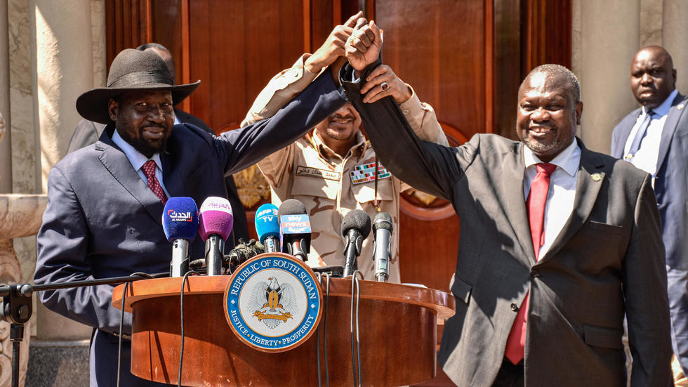 South Sudan's thugs form unity government in bid to end war