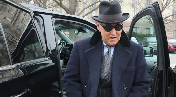 US: President Trump ally Roger Stone sentenced to over 3 years in prison