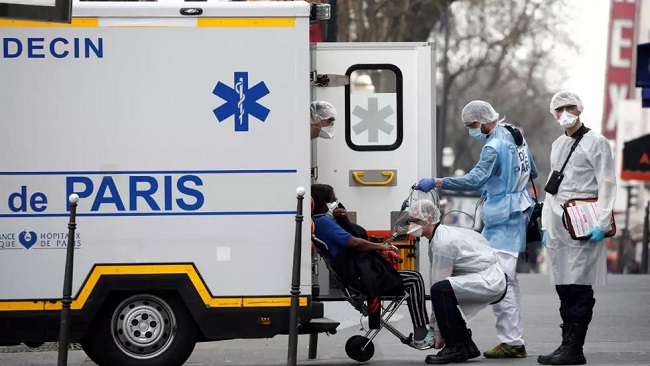 France records 112 coronavirus deaths in a day