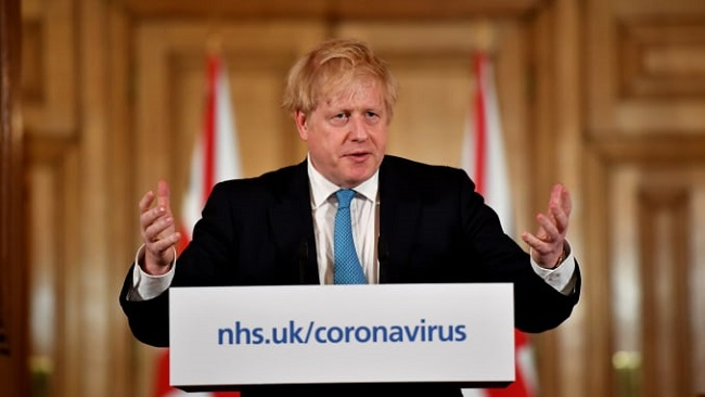 UK: PM Johnson postpones lockdown easing amid rise in new Covid-19 cases