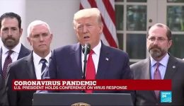 US: Trump defends use of hydroxychloroquine to ward off Covid-19
