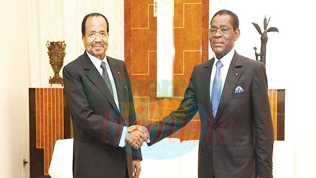 War looms as Biya and Obiang of Malabo feud over border wall