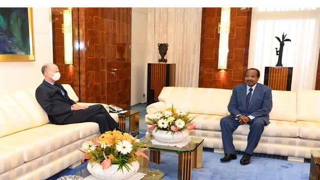 Recent discussion with French ambassador indicates Biya is losing his mind