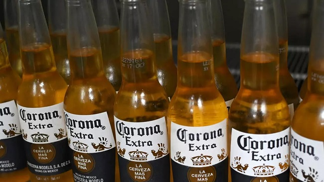 Corona beer producer halts brewing over virus