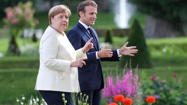 Macron and Merkel push Covid-19 recovery fund as Germany takes on EU presidency