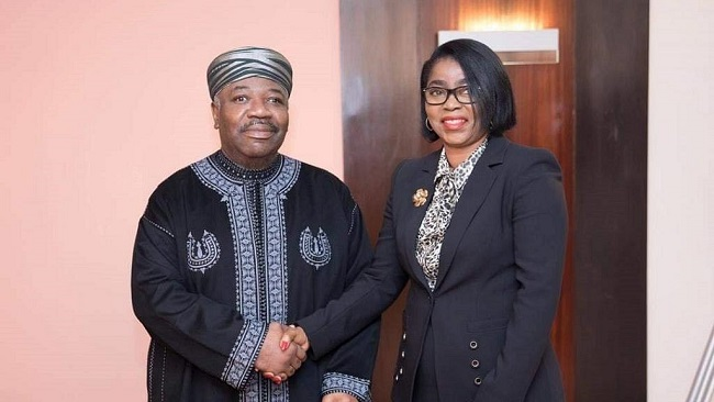 Rose Christiane Ossouka Raponda is Gabon's first woman Prime Minister
