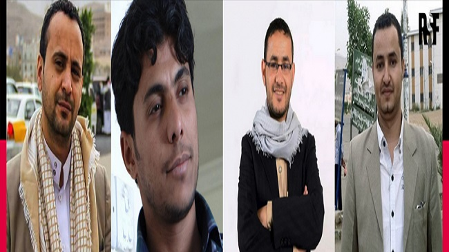 These four journalists could be executed at any moment!