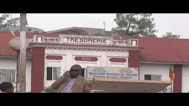 The End of an Era: Cameroon's National Treasury on Fire (Video)