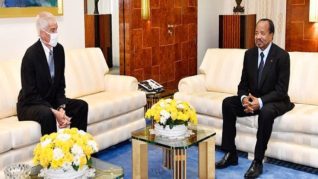 French Cameroun: BIYA bids farewell to outgoing Ambassador Henry Barlerin