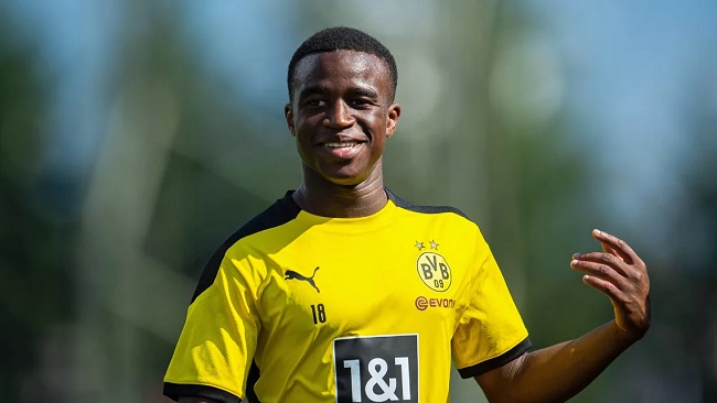 Football: Cameroonian Youssoufa Moukoko Could Make Dortmund History