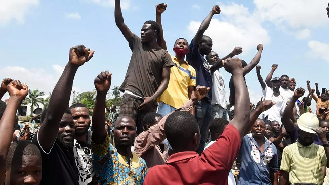 Nigeria's Lagos shut down after protest shooting