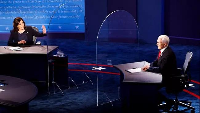 US Election 2020: Pence and Harris clash on coronavirus pandemic